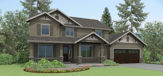 Custom Homes Battle Ground Wa Affordable Floor Plans To
